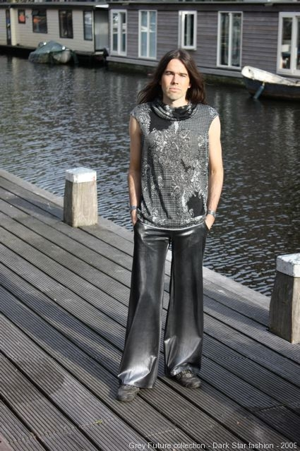 Grey Future collection, shirt, pants, 2009, Dark Star fashion
