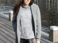 Grey Future collection, coat, top, pants, 2009, Dark Star fashion