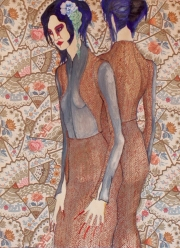 Illustration by Ivona Batuta - Dark Star fashion