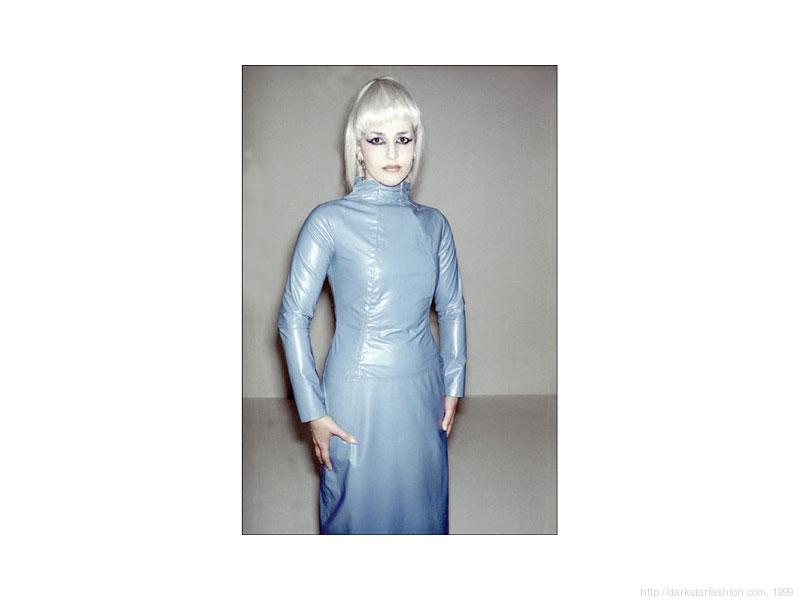Blue angel dress - Nylon collection - Dark Star fashion - 1999