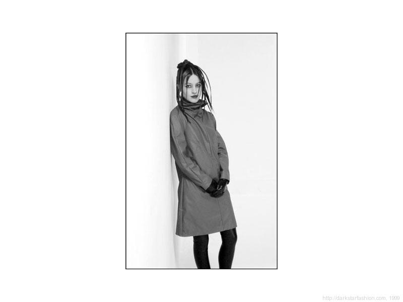Grey dress - Nylon collection - Dark Star fashion - 1999