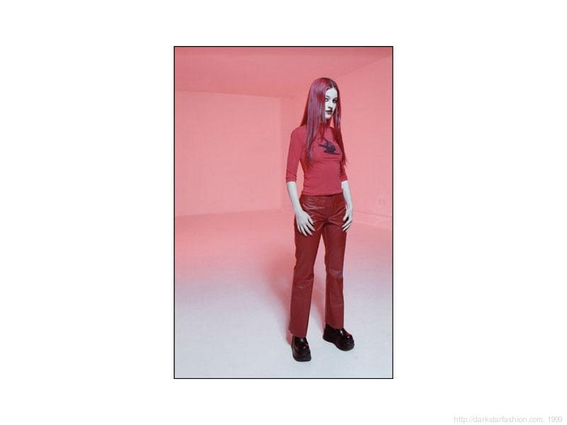 Red strange attractor - Nylon collection - Dark Star fashion - 1999
