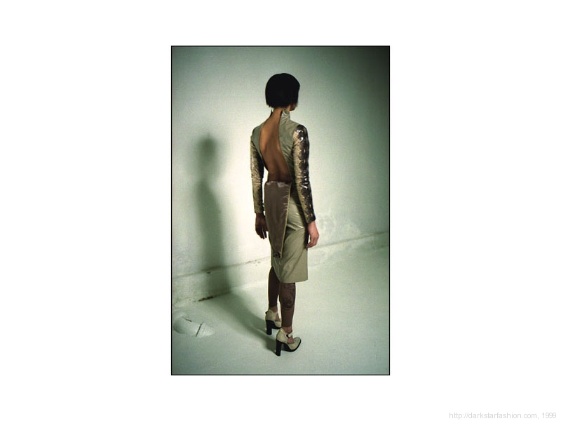 Snake print outfit - Nylon collection - Dark Star fashion - 1999